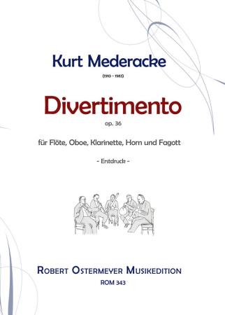 DIVERTIMENTO Op.36 score & parts