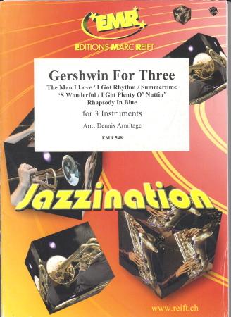 GERSHWIN FOR THREE (score & parts)