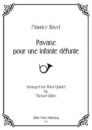 PAVANE pour une infante d''funte (score & parts)