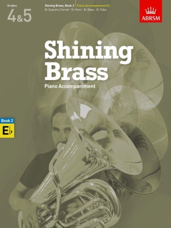 SHINING BRASS Book 2 Piano Accompaniment (Eb Instruments)