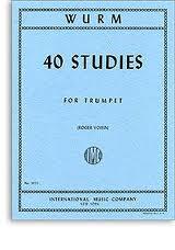40 STUDIES for Trumpet