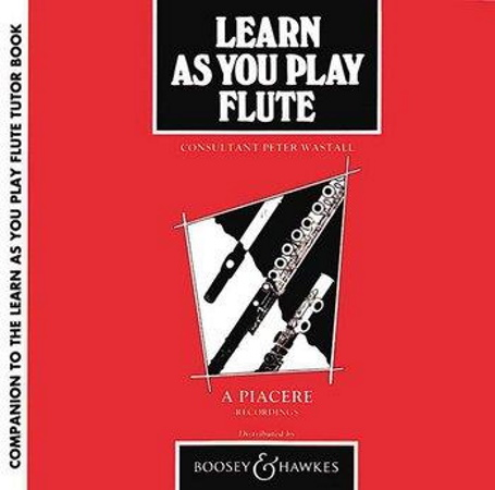 LEARN AS YOU PLAY FLUTE CD