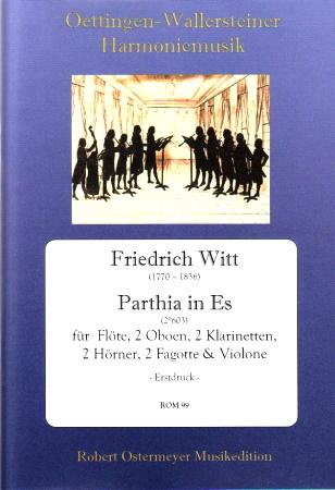 PARTHIA in Eb major score & parts