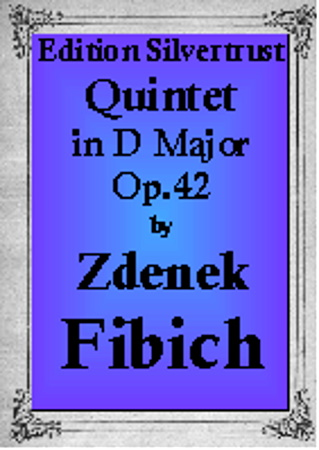 QUINTET in D major Op.42 (piano score & parts)