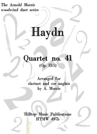 QUARTET No.41 Op.33, No.5