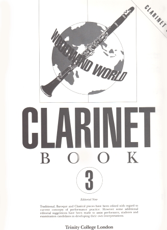WOODWIND WORLD Clarinet Book 3 (part only)