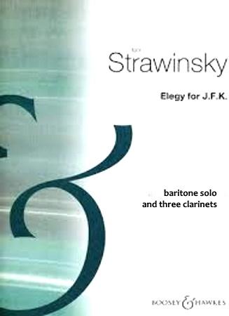 ELEGY FOR J.F.K. baritone