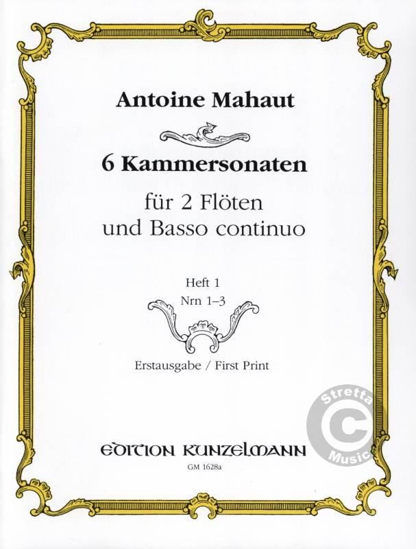 6 KAMMERSONATEN Nos.1-3