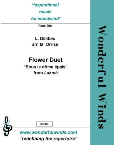 FLOWER DUET from Lakme (score & parts)