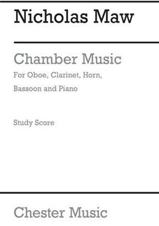 CHAMBER MUSIC piano score