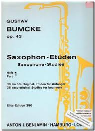 SAXOPHONE STUDIES Op.43 Part 1: 36 Easy Original Studies