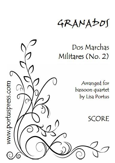 DOS MARCHAS MILITARES No.2 (score & parts)