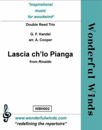 LASCIA CH'IO PIANGA (score & parts)