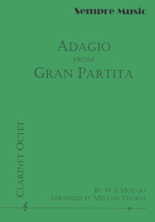 ADAGIO from Gran Partita, K361 (score & parts)