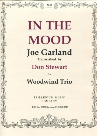 IN THE MOOD score & parts