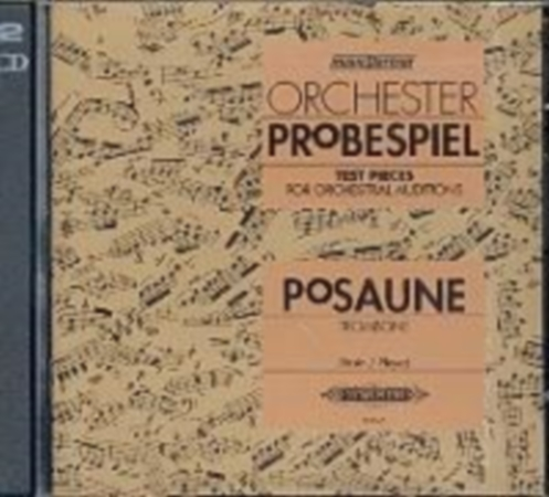 ORCHESTER PROBESPIEL for Trombone CD