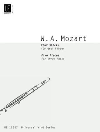 FIVE PIECES FOR THREE FLUTES