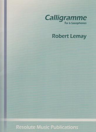 CALLIGRAMME (score & parts)
