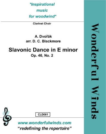 SLAVONIC DANCE in E minor (score & parts)