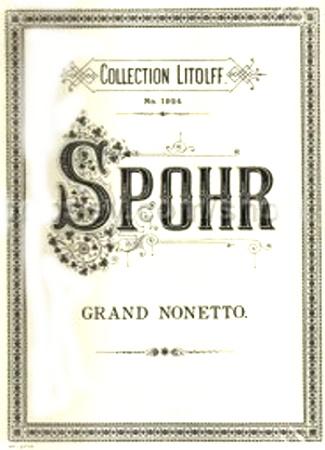 NONET in F major Op.31 (set of parts)