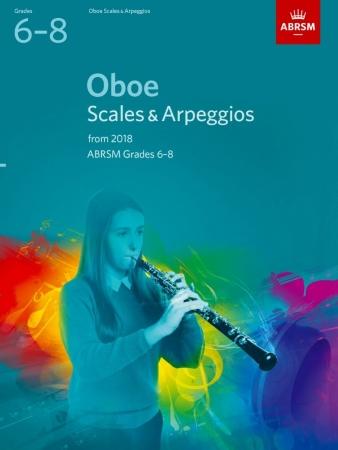 OBOE SCALES & ARPEGGIOS Grade 6-8 (from 2018)