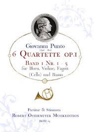 6 QUARTETS Op.1 Volume 1 (score & parts)