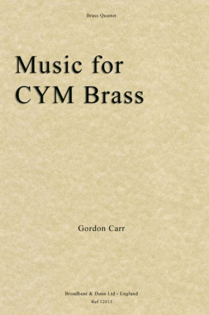 MUSIC FOR CYM BRASS Brass Quintet No.2 (score & parts)