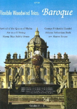 FLEXIBLE WOODWIND TRIOS: Baroque (score & parts)