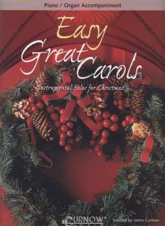 EASY GREAT CAROLS Piano Accompaniment