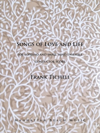 SONGS OF LOVE AND LIFE (conductor's score)