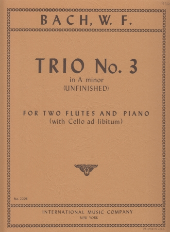TRIO No.3 in a minor