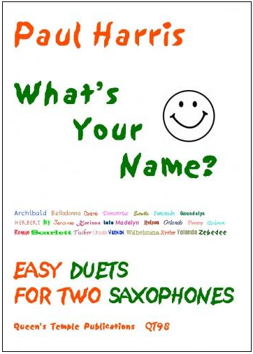 WHAT'S YOUR NAME? Easy duets