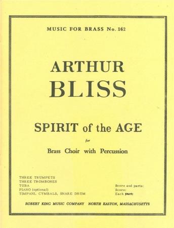 SPIRIT OF THE AGE score & parts