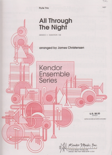 ALL THROUGH THE NIGHT (score & parts)