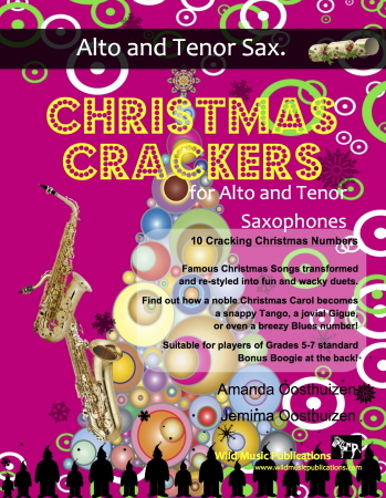 CHRISTMAS CRACKERS for Alto & Tenor Saxophones