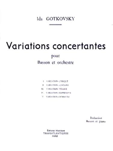 VARIATIONS CONCERTANTES