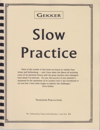 SLOW PRACTICE