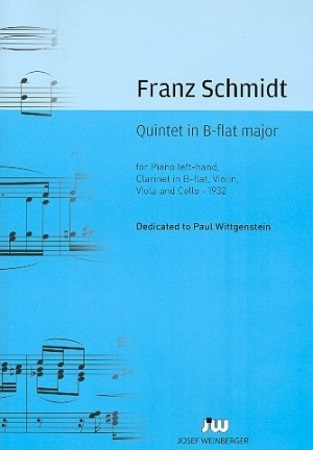QUINTET in Bb major (score & parts)