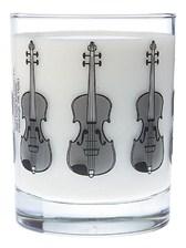 GLASS TUMBLER Violin