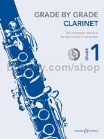 GRADE BY GRADE Clarinet Grade 1 + CD