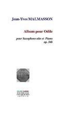 ALBUM POUR ODILE 3 easy pieces