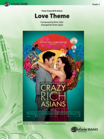 LOVE THEME (CRAZY RICH ASIAN) (score & parts)