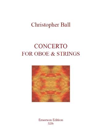 CONCERTO for Oboe & Strings (score)