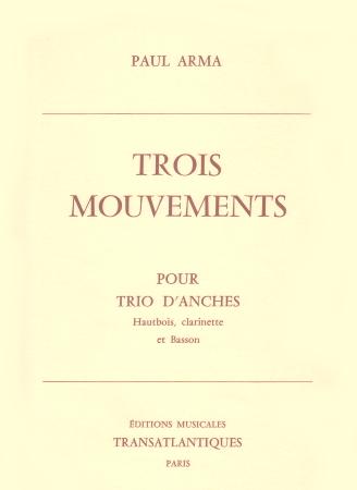 TROIS MOUVEMENTS parts