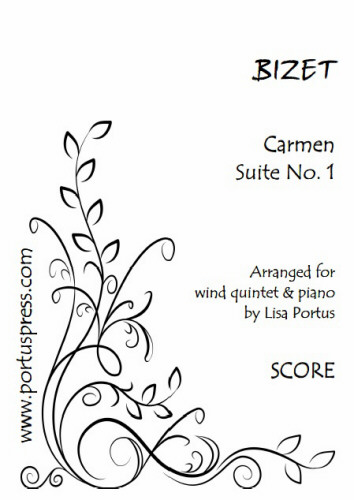 CARMEN SUITE No.1 (score & parts)