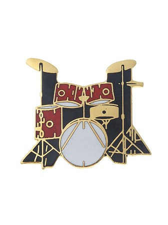 MINI PIN 5-Piece Drum Set (Red)