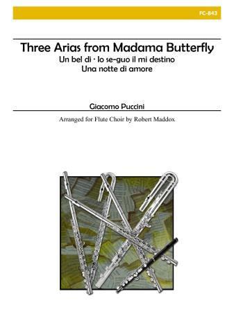 MADAMA BUTTERFLY Three Arias