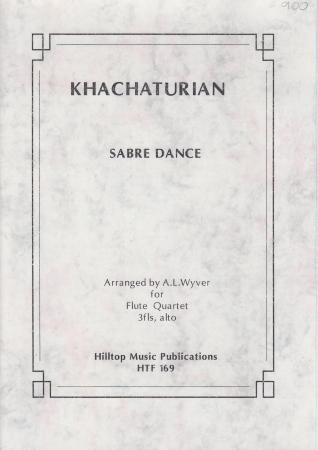 SABRE DANCE score & parts