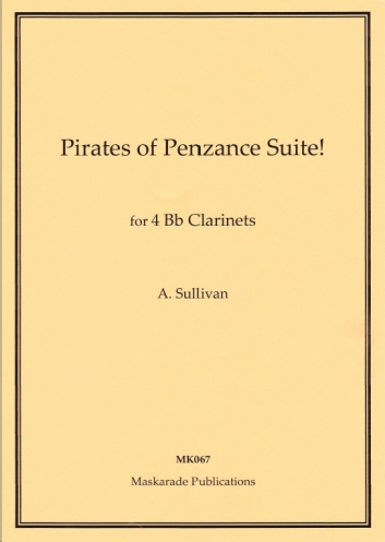 THE PIRATES OF PENZANCE Suite (score & parts)