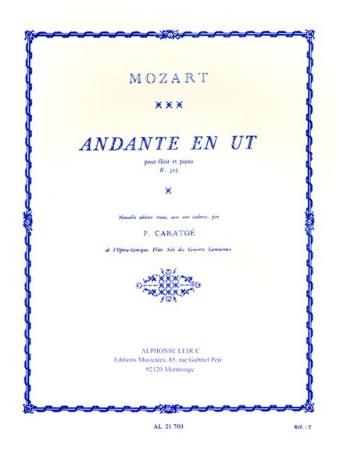 ANDANTE in C KV315 cadenza by Caratge